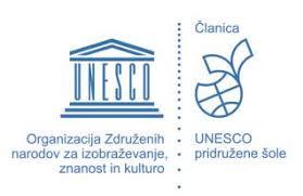 Skriti kotički mojega kraja – Unesco